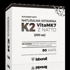 Witamina K2 mk7 200mcg Laborell