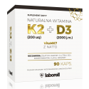 Witamina K2 mk-7 200mcg + D3 2000iu Laborell 90 kaps