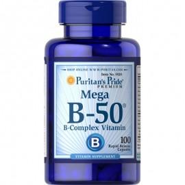 Witamina B-complex B1 B2 B3 B5 B6 B7 B9 B12 Puritan's Pride
